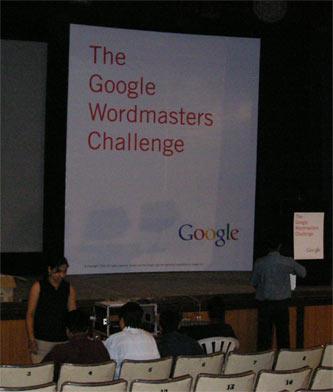 Google Wordmasters Pue