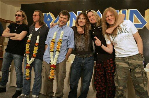 Iron Maiden Mumbai photos