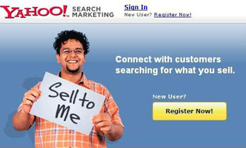 Yahoo Search Marketing India Launched
