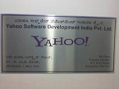 bangalore office plaque