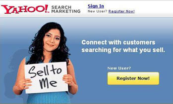 Indian Yahoo Search Marketing Product Launch